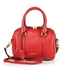 Burberry Alchester Small Bowler Bag - Lyst