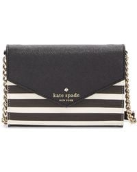 Kate Spade Monday Striped Crossbody Bag - Lyst