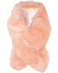 Linea | Faux Fur Slot Through | Lyst