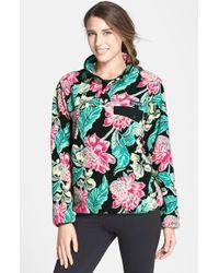 Patagonia Print Fleece Pullover - Lyst