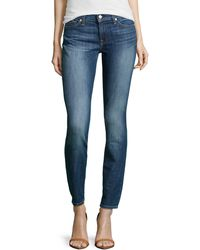 7 For All Mankind Gwenevere Skinny Jeans - Lyst