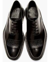 Yang Li - Black Half_strap Paneled Shoes - Lyst