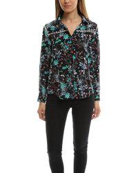 The Kooples | Botanic Silk Shirt | Lyst
