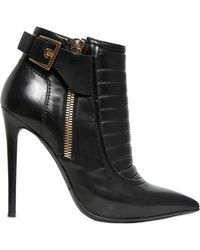 Gianmarco Lorenzi 115mm Padded Calf Leather Ankle Boots - Lyst