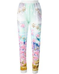 Manish Arora Printed Trousers - Lyst