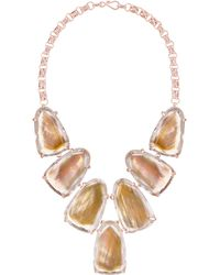 Kendra Scott - Harlow Shell Bib Necklace - Lyst
