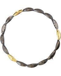 Alexis Bittar Fine - Slate Marquise Tennis Bracelet with Diamonds - Lyst