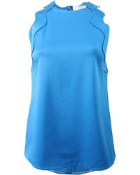 3.1 Phillip Lim Embroidered Ric Rac Tank - Lyst