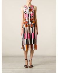 Paul Smith Sleeveless Dress - Lyst