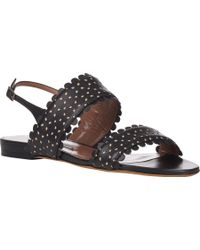 Tabitha Simmons Loopsey Slingback Sandals - Lyst