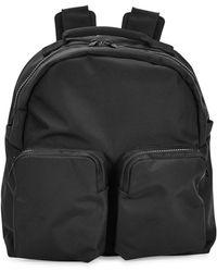 Yeezy - Black Canvas Backpack - Lyst
