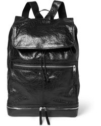 Balenciaga Large Medium Creasedleather Backpack - Lyst
