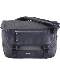 Diesel Gray Blockin' Messenger - Lyst