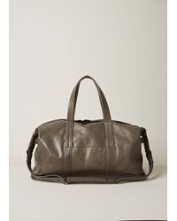 Maison Margiela | Grey Green Weekender Bag | Lyst