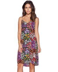 Equipment Layla Silk Floral-Print Dress - Lyst