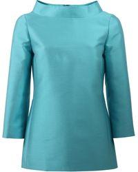 Michael Kors | Stand Collar Tunic | Lyst