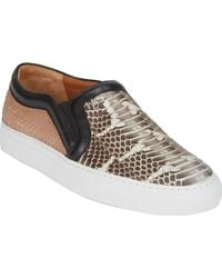Givenchy Python Slipon Sneakers - Lyst