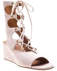 Chloé Gladiator Wedge Sandals - Lyst