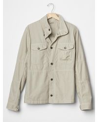 Gap Lightweight Fatigue Jacket - Lyst