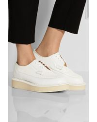 Purified George Cox Leather and Patentleather Creepers - Lyst