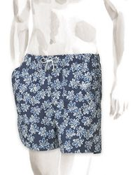 Hermes Grand Jardin Swim Trunks - Lyst