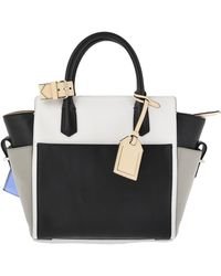 Reed Krakoff Borsa in Pelle Color Block - Lyst