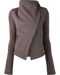 Gareth Pugh Zipped Fleece Jacket - Lyst