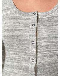 Etoile Isabel Marant Striped Pattern T-Shirt - Lyst