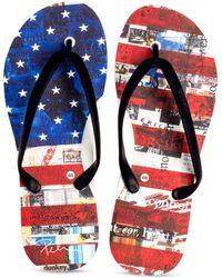 Tidal - Flip Flops - Us Flag - Lyst