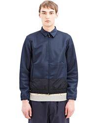 Jil Sander Mens High Tech Jacket - Lyst