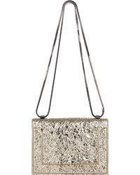3.1 Phillip Lim Foil-effect Soleil Mini Shoulder Bag - Lyst