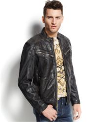 Affliction Fire Horse Leather Jacket - Lyst