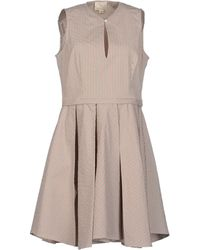 Boy by Band of Outsiders Kneelength Dress - Lyst