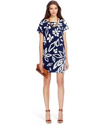 Diane von Furstenberg Harriet Silk Tunic Dress - Lyst