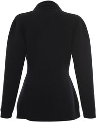 Francesco Scognamiglio - Knit Double Breasted Cardigan - Lyst