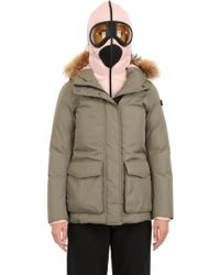 Ai Riders On The Storm Zip Up 3 Layer Parka - Lyst