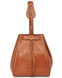 Myriam Schaefer - Dino Leather Bucket Bag - Lyst