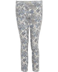 Uniqlo - Angelica Garla C Printed Cropped Legging Trousers - Lyst
