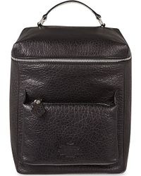 Vivienne Westwood Punk Pocket Leather Backpack - For Men - Lyst