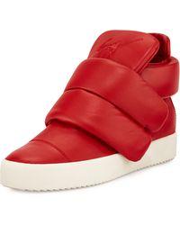 Giuseppe Zanotti Kid Cudi Two-strap High-top Sneaker - Lyst