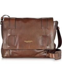 The Bridge - Cosmopolitan Brown Leather Messenger Bag - Lyst