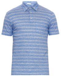 Richard James - Striped Linen And Cotton-Blend Polo Shirt - Lyst