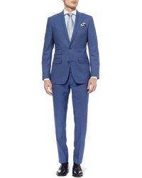 Thom Sweeney - Blue Weighouse Wool Suit - Lyst