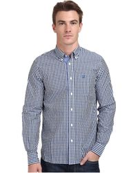 Fred Perry Three Colour Gingham Shirt - Lyst