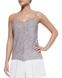 T By Alexander Wang Printed Sweetheart-neck Cami - Lyst