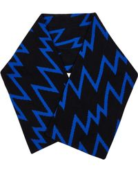 Christopher Kane - Lightening Bolt Cashmere And Wool-Blend Scarf - Lyst