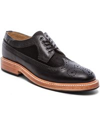 Caminando Long Wingtip Shoes with Haircalf - Lyst