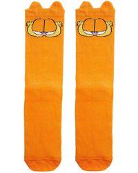 Lazy Oaf - Garfield Socks - Lyst