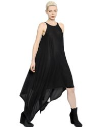 Gareth Pugh Modal and Cashmere Blend Jersey Dress - Lyst