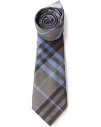 Burberry House Check Tie - Lyst